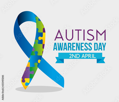 ribbon-puzzles-and-ribbon-to-autism-day