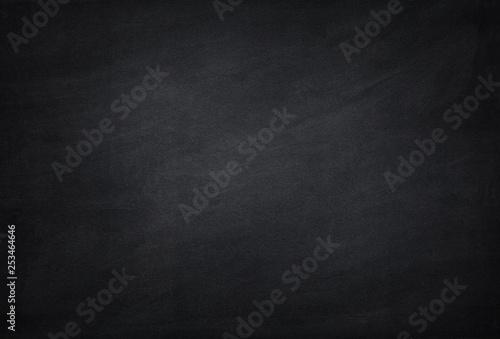 Fotografía  empty black school chalkboard