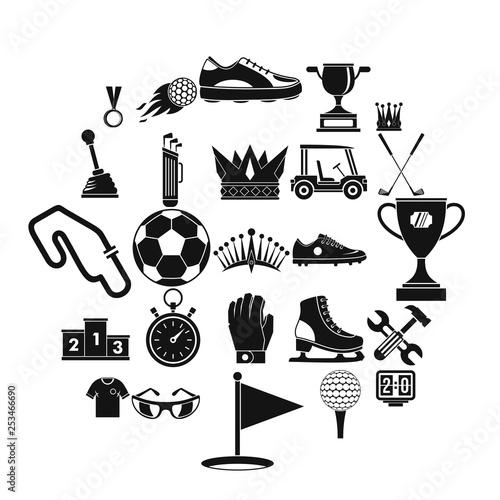 Fotografía  Prize icons set