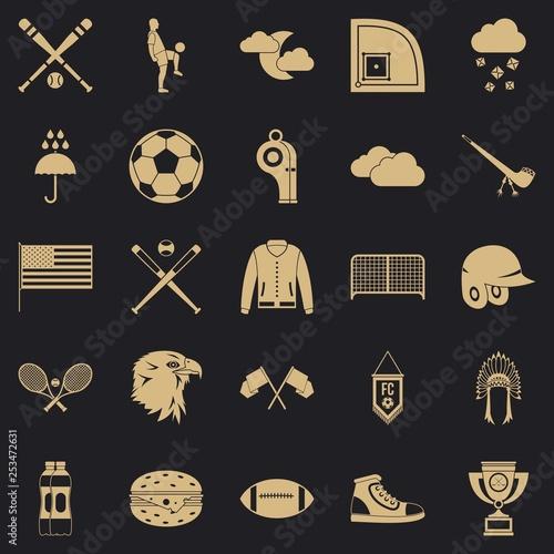 Fotografie, Obraz  Kinds of sports icons set