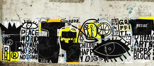 Obraz na plátně Wall