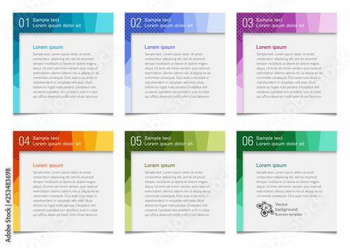 Fototapeta Banner and heading design, Vector graphics obraz