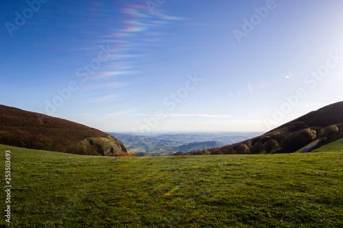 Foto  Montagna all'alba