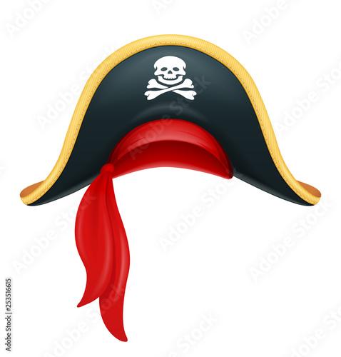Pirate hat Wallpaper Mural