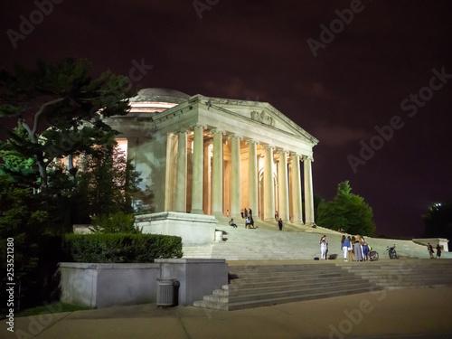 Fotografie, Obraz  Washington DC, District of Columbia [United States US, Thomas Jefferson Memorial