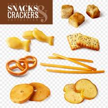 Crackers And Snacks Transparen...