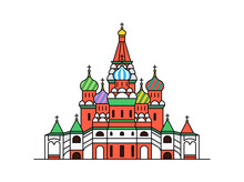 Saint Basil's Cathedral Icon, ...