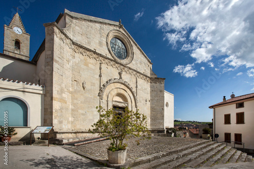 Fotografie, Obraz  Chiesa di San Giorgio- Pozzomaggiore (Sassari) - Sardegna