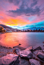 Sunrise In Queenstown