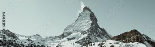 Panorama Matterhorn, Wallis, Schweiz Wallpaper Mural