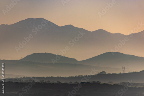 Fotografia, Obraz  Entre montes