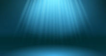 Dark Blue Ocean Surface Depth Scene. Abstract Rays Of The Sun Through The Depths Of The Underwater Background. Diving. Blue Sea Pool Water. Bottom View. EPS 10 Vector Illustration