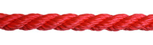 Strong Red Climbing Rope On Wh...
