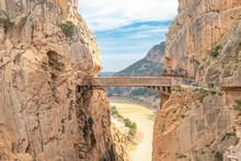 Bridge In Gorge Of The Gaitane...