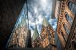 canvas print picture - Bremer Dom Turm von unten