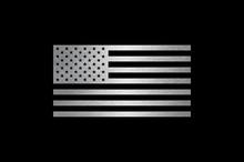 American Flag Metal Badge USA Emblem Design
