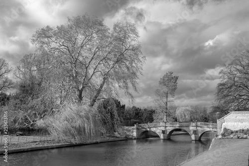 Photo  Clare College Bridge, Cambridge