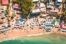Aerial View Of Sayulita Beach
