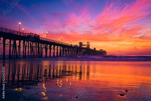 Fotografia sunset on the ocean
