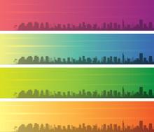 Tel Aviv Multiple Color Gradie...