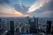Sunset Frankfurt Skyline