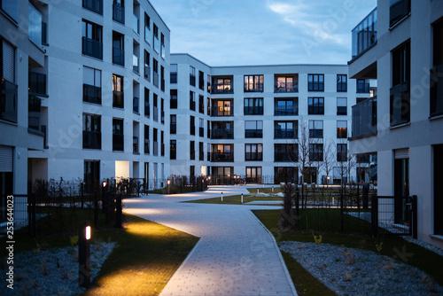 Obraz Neubausiedlung  - fototapety do salonu