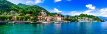 Picturesque Lake Lago Maggiore...