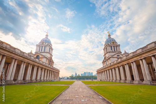 Cuadros en Lienzo The Old Royal Naval College in London, UK