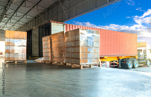 Carta da parati  Logistics and Warehouse