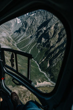 Shot Of A Mountain Through The...