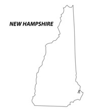 New Hampshire - Map State Of USA