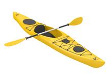 Kayak Isolated