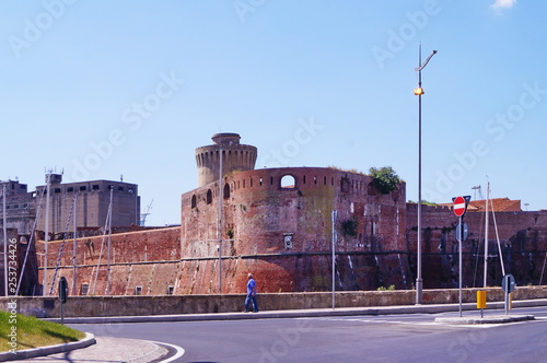 Old Fortress, Livorno; Tuscany, Italy Wallpaper Mural
