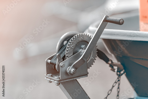 Foto Manual winch mechanism