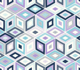 seamless doodle dots geometric square pattern - Vector - 253742013