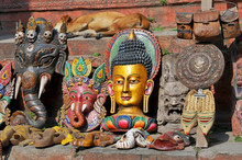 Nepal, Kathmandu, Ganesha Elep...