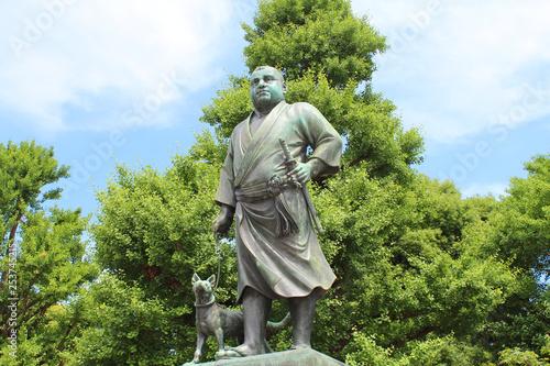 Stampa su Tela  西郷隆盛 銅像 上野