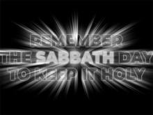 Remember The Sabbath Day To Ke...
