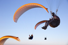 Paraglide With A Paraglider In...