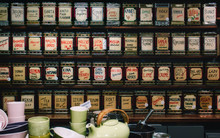 A Collection Of Teas On Displa...
