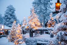 Santa Claus Village Lapland Finland