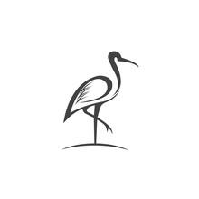 Heron Logo Vector