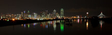 Dallas Skyline Pano At Night R...
