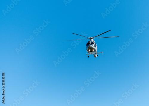 Staande foto hélicopère