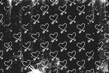 Grunge Pattern With Line Art I...