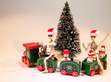 Christmas Tree Train