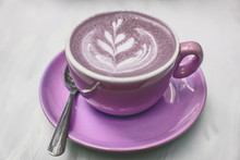 Lavender Coffee Cup.