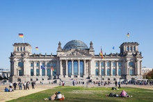 Germany, Berlin, District Mitte, Reichstag Building