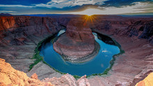 Scenic Famous Horseshoe Bend, Arizona, USA