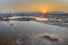 Dead Sea, Ein Bokek, Israel - ...
